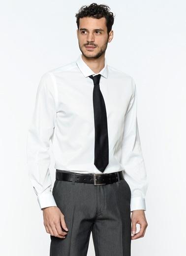 Uzun Kollu Gömlek-Koton